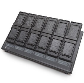 12 Unit Multi-Bay Battery Charger for XP8