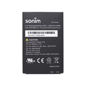 Sonim Replacement 4900mAh Battery for XP8