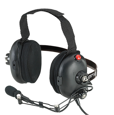 Otto ClearTRAK Behind-the-Head Headset